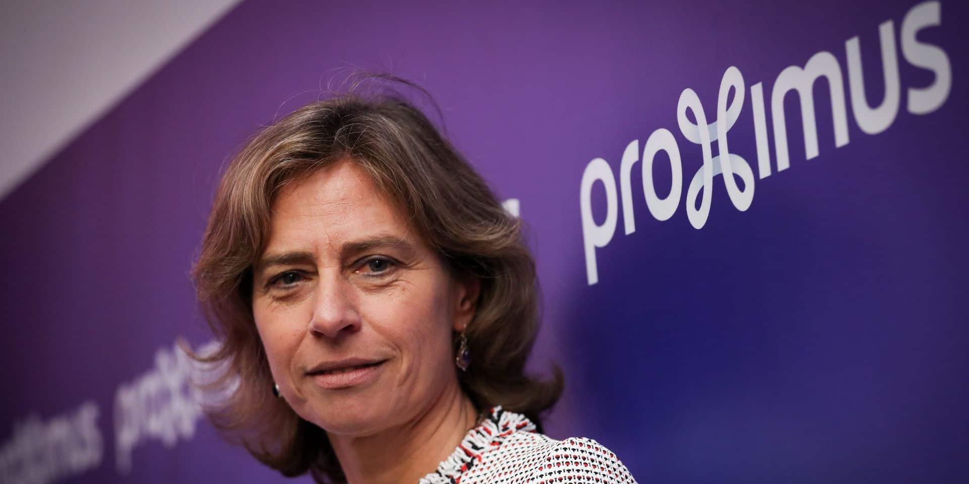 Craintes pour l'emploi chez Proximus, la CEO convoquée par le Premier