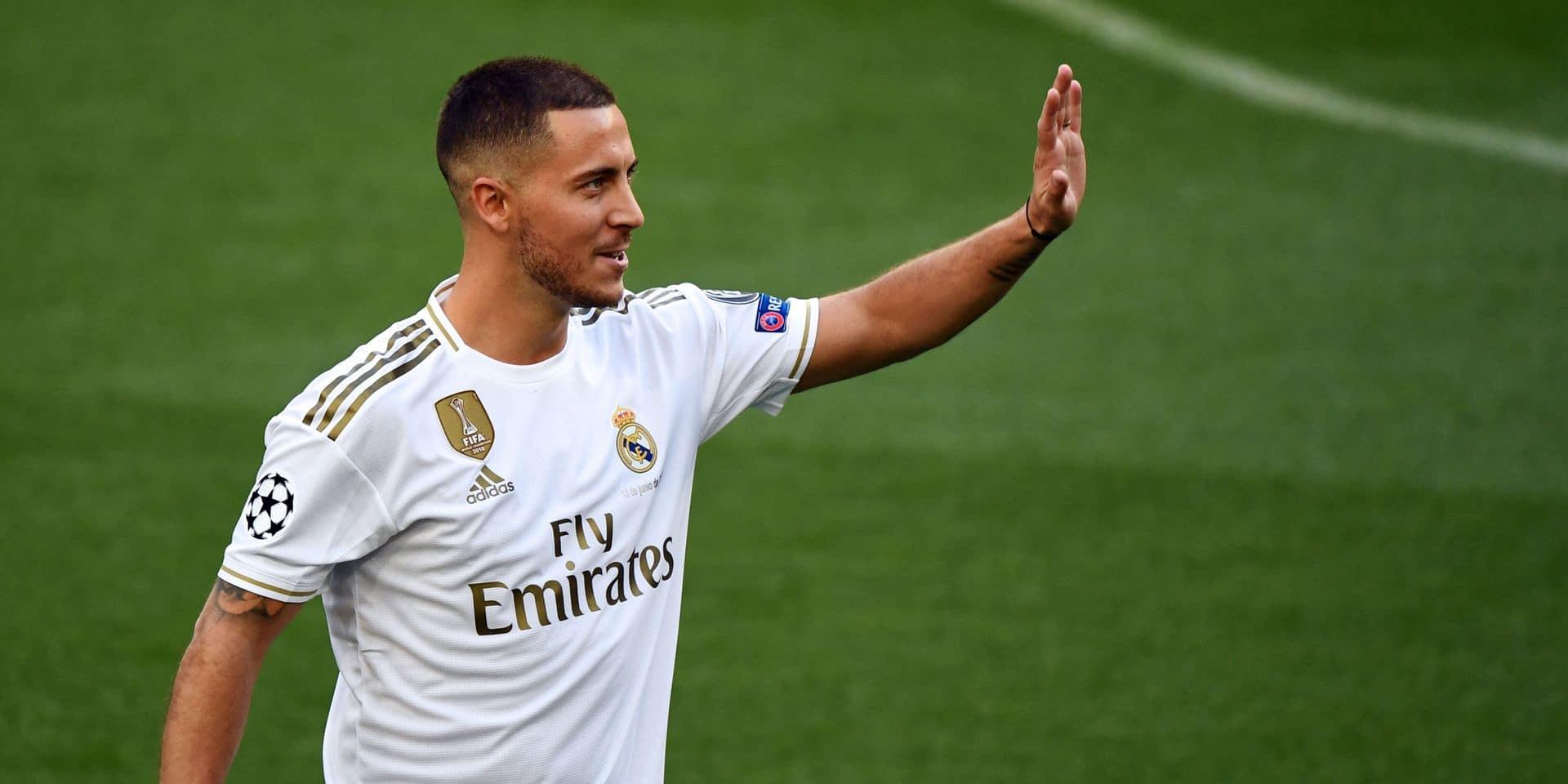 Eden Hazard avec son numéro improbable rate ses débuts avec le Real
