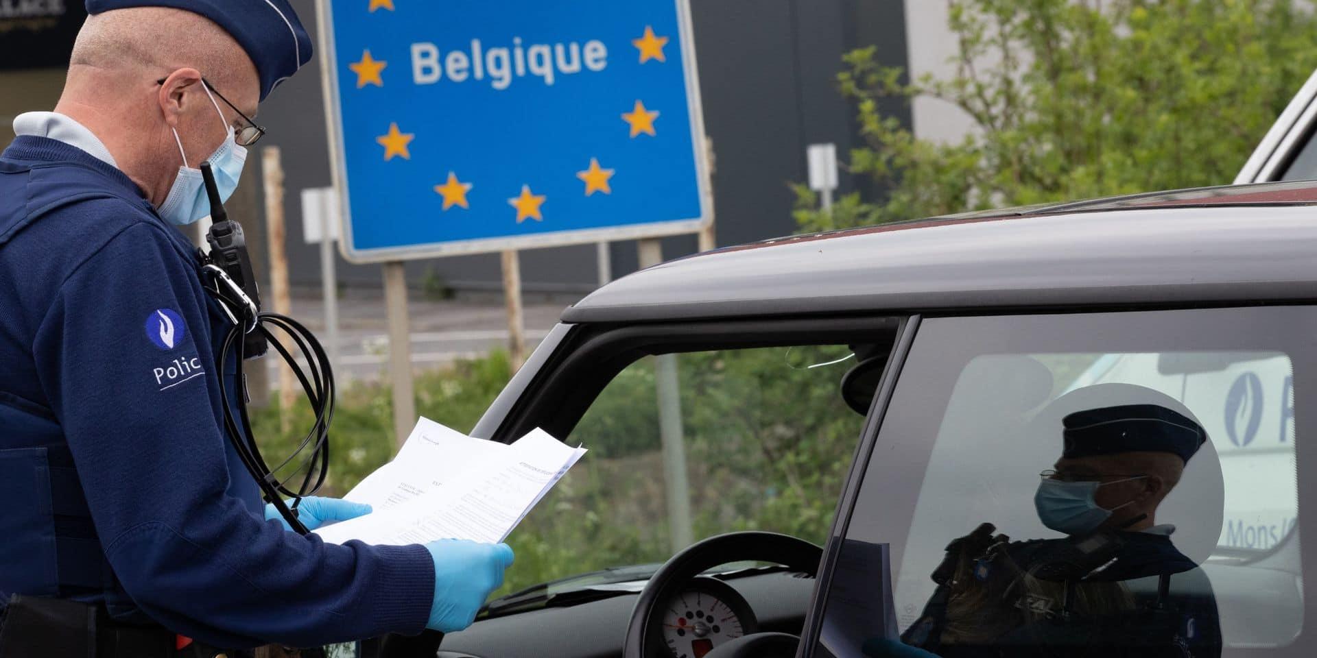 Près de 100.000 PV COVID-19 enregistrés en Belgique en deux mois de confinement