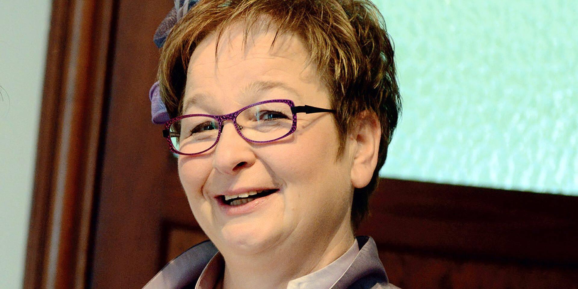 Ciney: l'Award de l'Eleveur wallon a été remis à Anne Pirson-Demarche