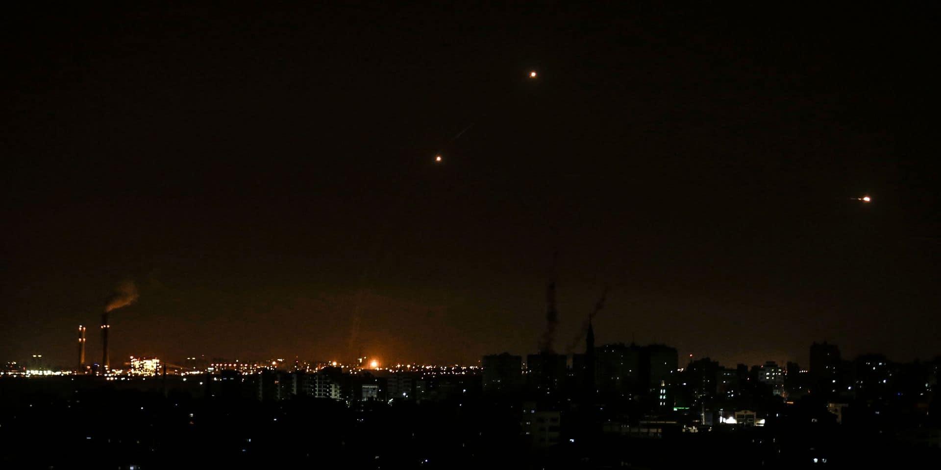 """Des missiles """"israéliens"""" tombent près de l'aéroport de Damas"""