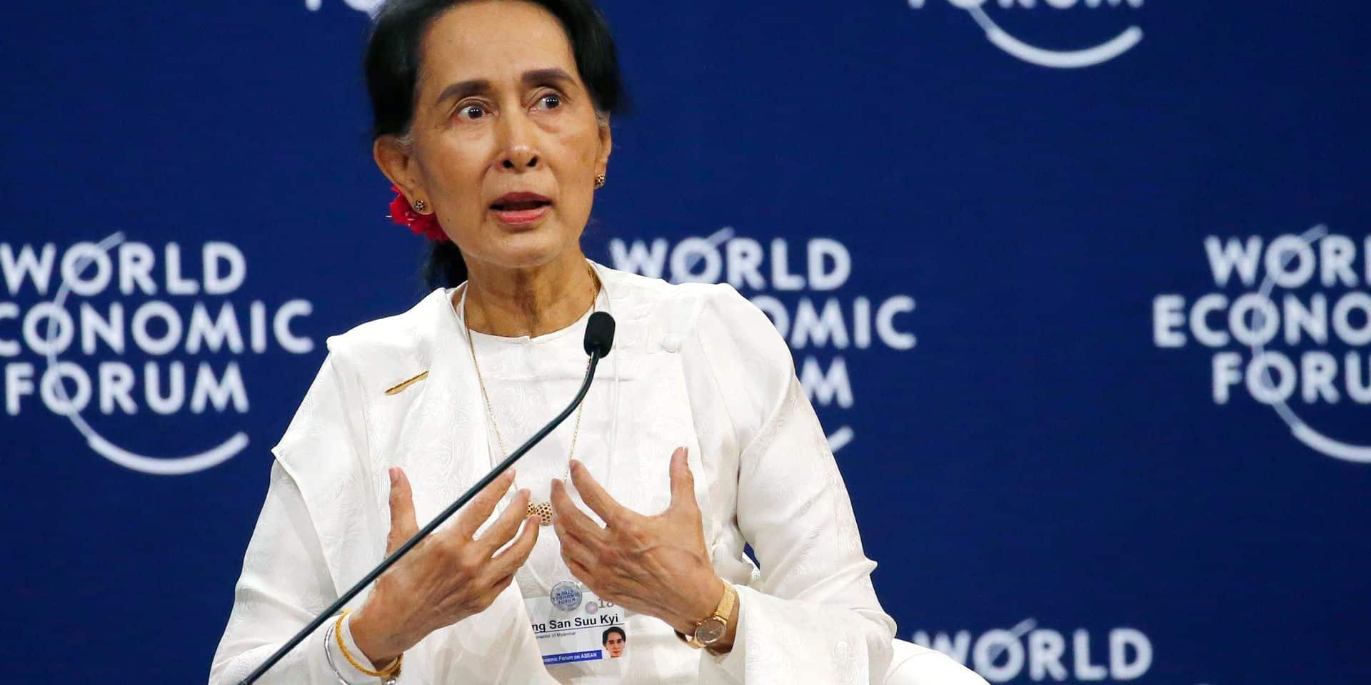 Violences envers les Rohingyas: Aung San Suu Kyi défend l'emprisonnement de journalistes de Reuters