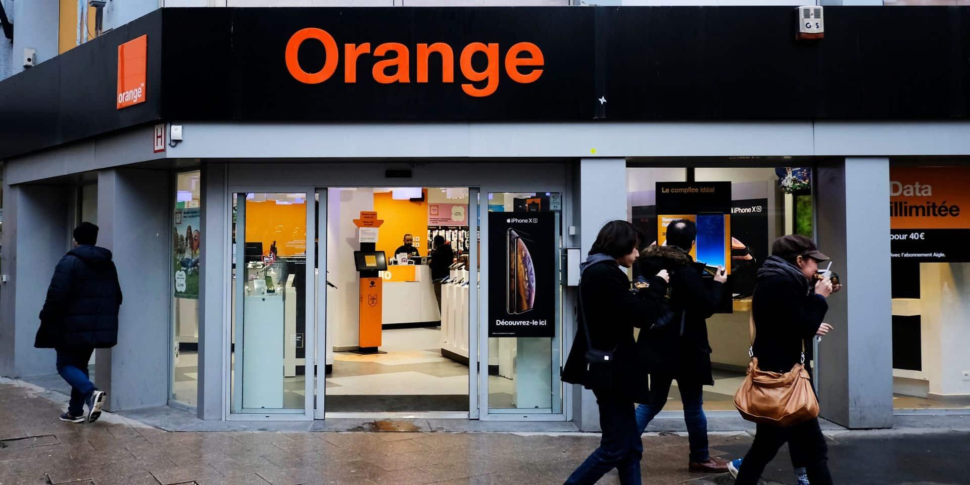 Le groupe français Orange SA envisage l'acquisition d'Orange Belgique