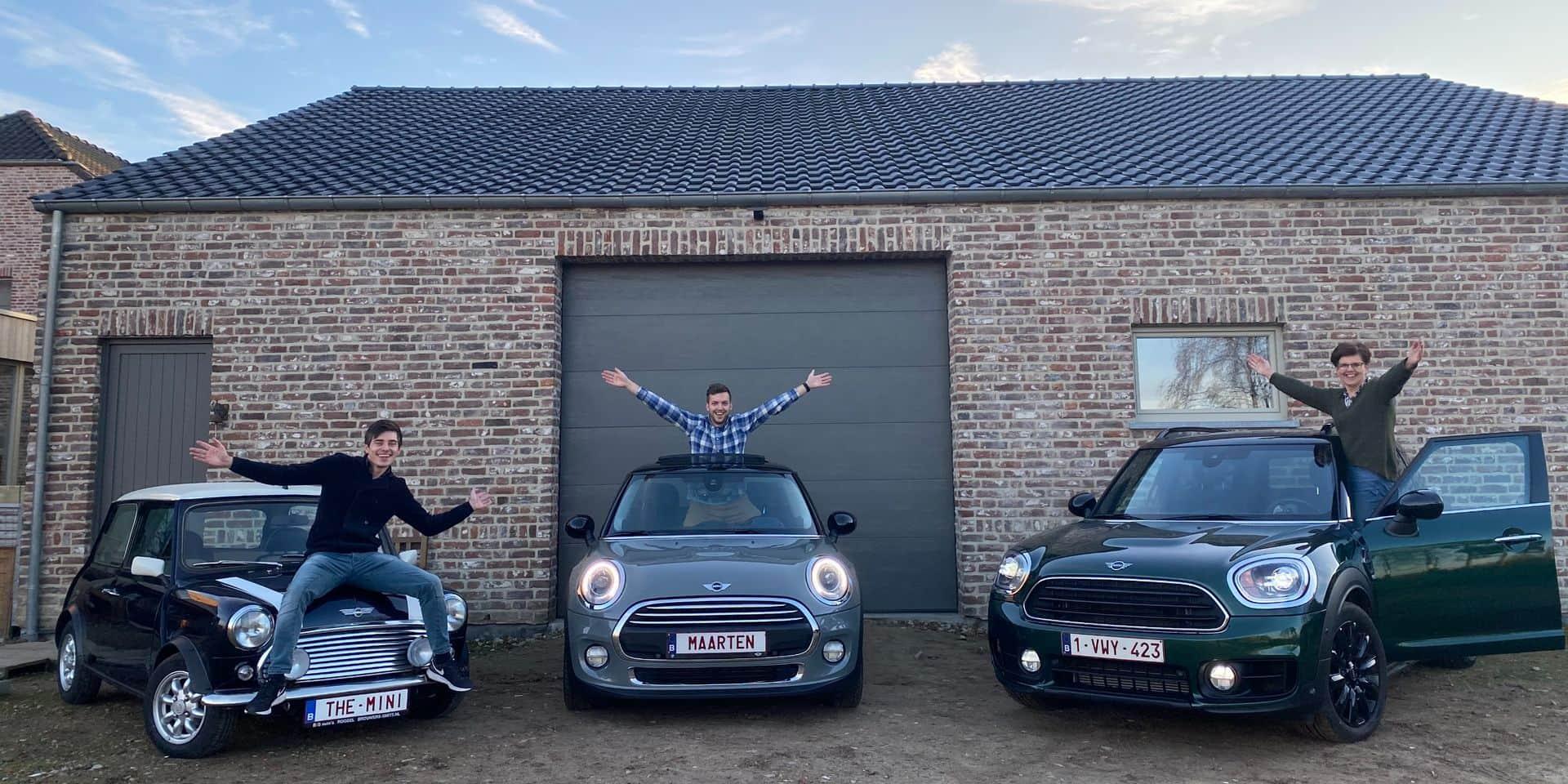 Fan de MINI, Maarten a inspiré toute sa famille : « Mon enthousiasme est contagieux » - Amour familial des MINI