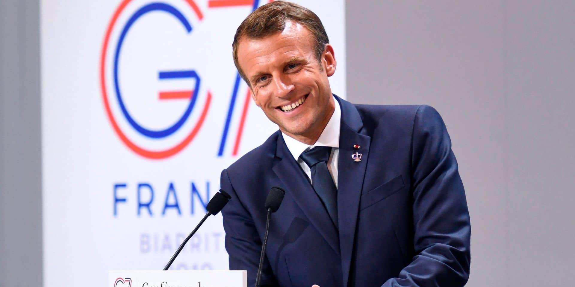 Édito: Macron sur tous les fronts