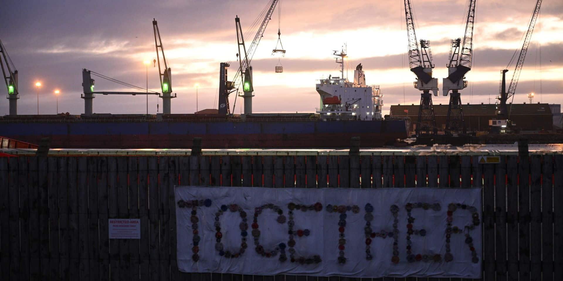 Tout était calme dans les ports des deux côtés de la Manche ce 1er janvier, mais les difficultés sont sans doute à venir.