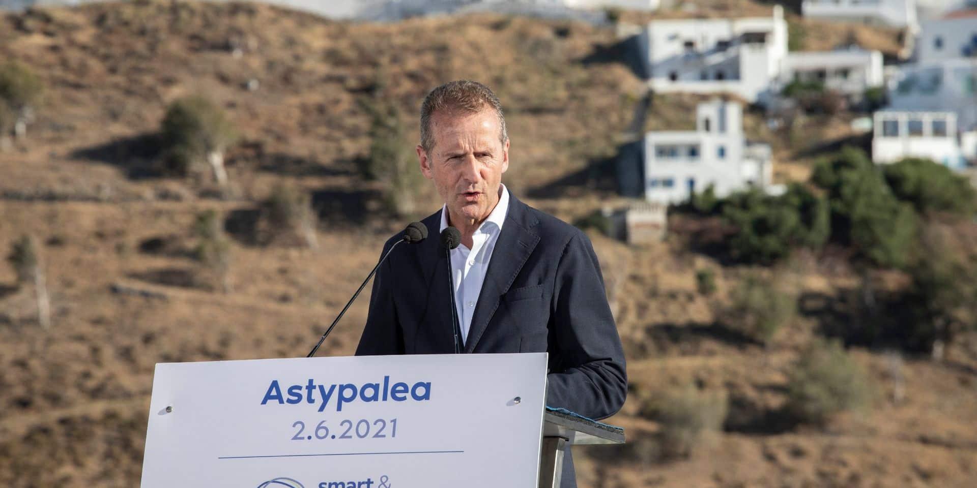 """Une île grecque devient un """"laboratoire de la décarbonisation"""" en Europe"""