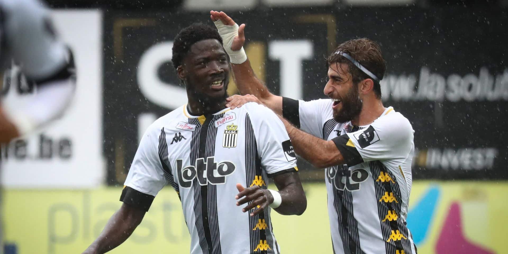 Grâce à un doublé de Nicholson, Charleroi reprend la place de leader et continue son sans-faute (2-0)