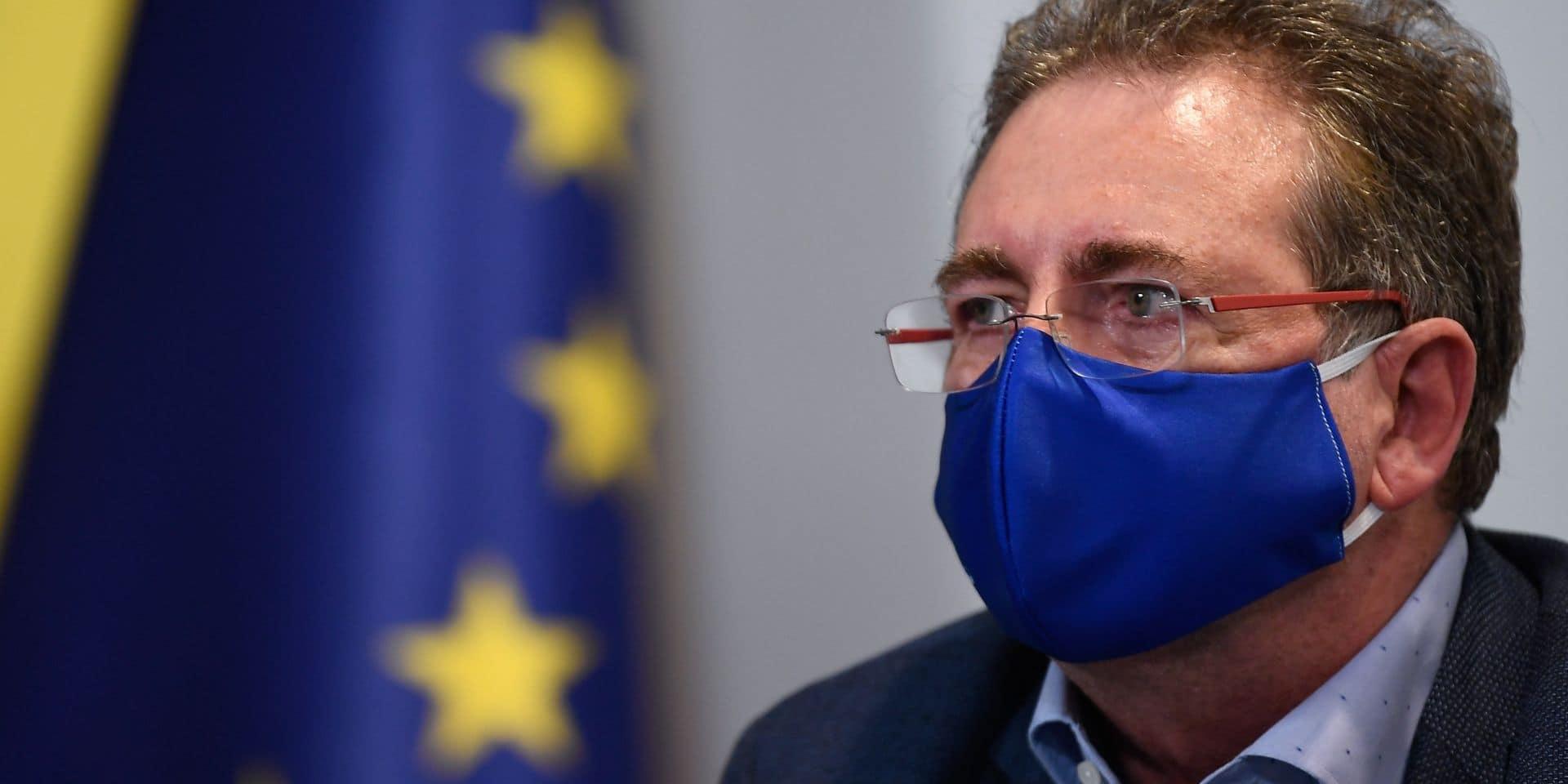Rudi Vervoort positif au coronavirus