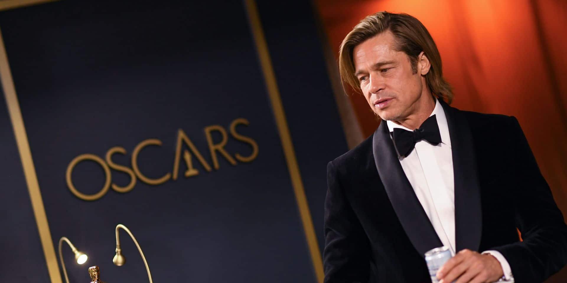 Brad Pitt ému, les Obama à l'honneur: les temps forts de la 92e cérémonie des Oscars
