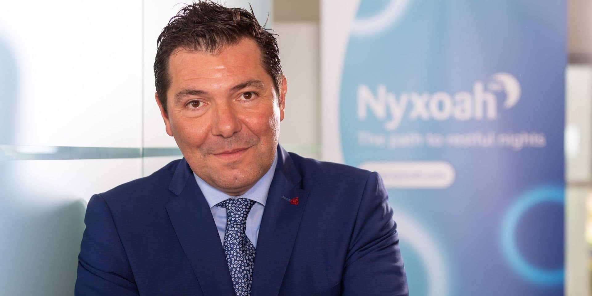 Olivier Taelman, CEO de Nyxoah