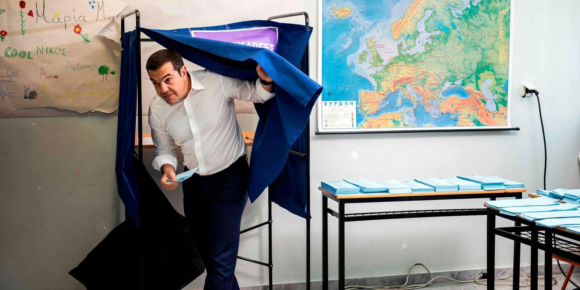 Elections européennes en Grèce: sanctionné, Tsipras appelle à des législatives anticipées