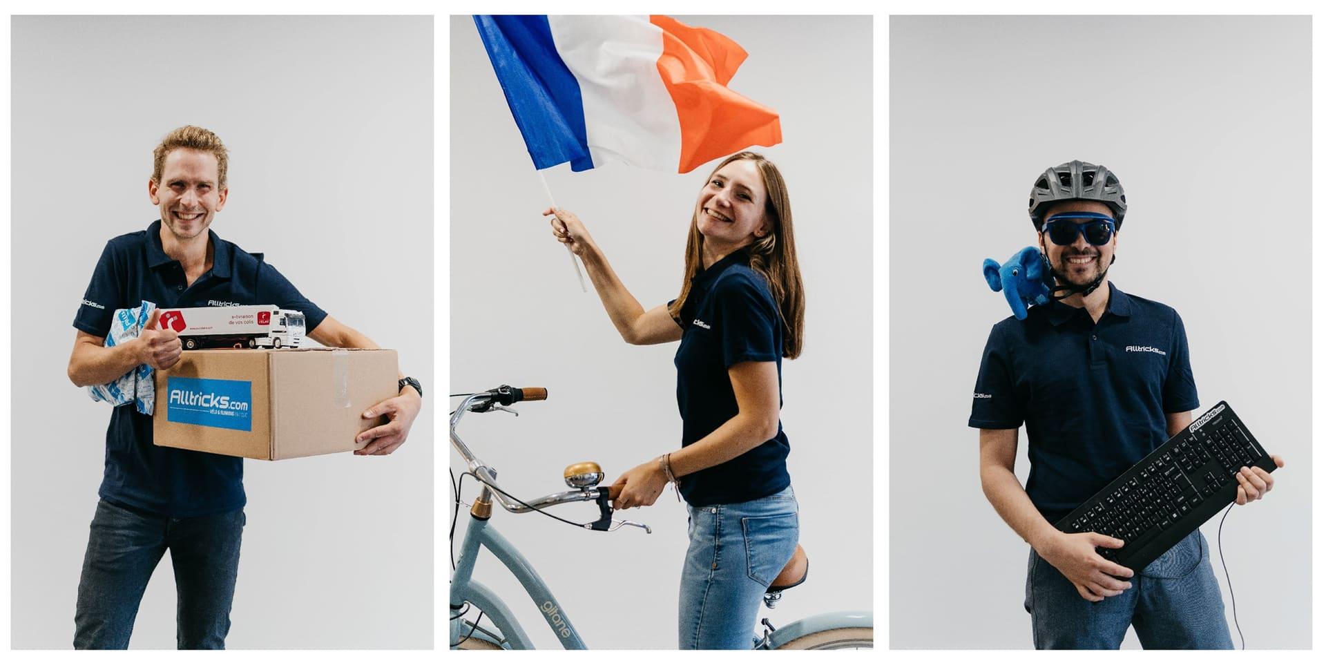 Decathlon s'offre la start-up Alltricks, spécialiste du vélo