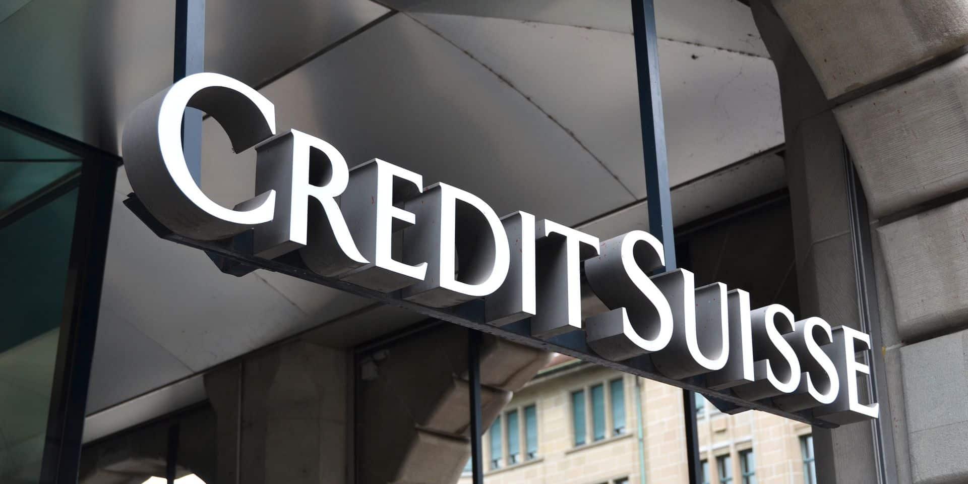 """Un fiasco à quatre milliards d'euros pour le Credit Suisse qui """"va faire le ménage"""""""