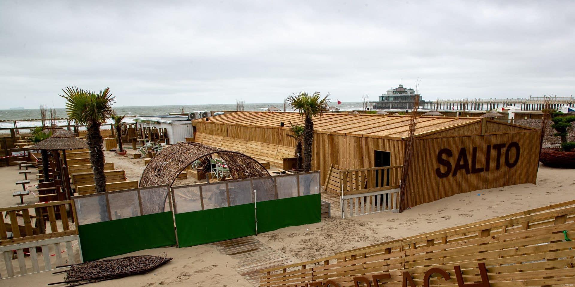 Plusieurs bars de plage pénalisés pour avoir assuré le service au comptoir