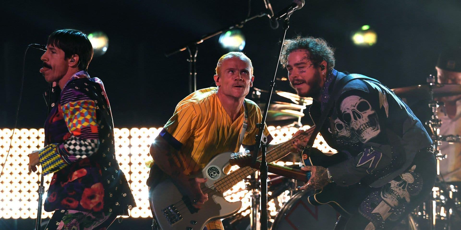 Les Red Hot Chili Peppers cèdent leur catalogue pour 140 millions de dollars