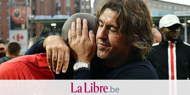 Standard's head coach Ricardo Sa Pinto reacts after the Jupiler Pro League match between Sporting Charleroi and Standard de Liege, Sunday 20 May 2018 in Charleroi, on the tenth and last day of the Play-Off 1 of the Belgian soccer championship. BELGA PHOTO JOHN THYS