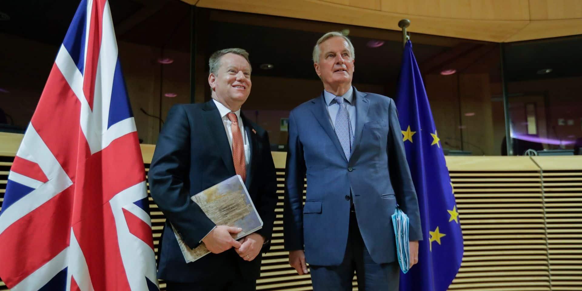 Londres appelle l'UE à revoir ses propositions pour un accord post-Brexit