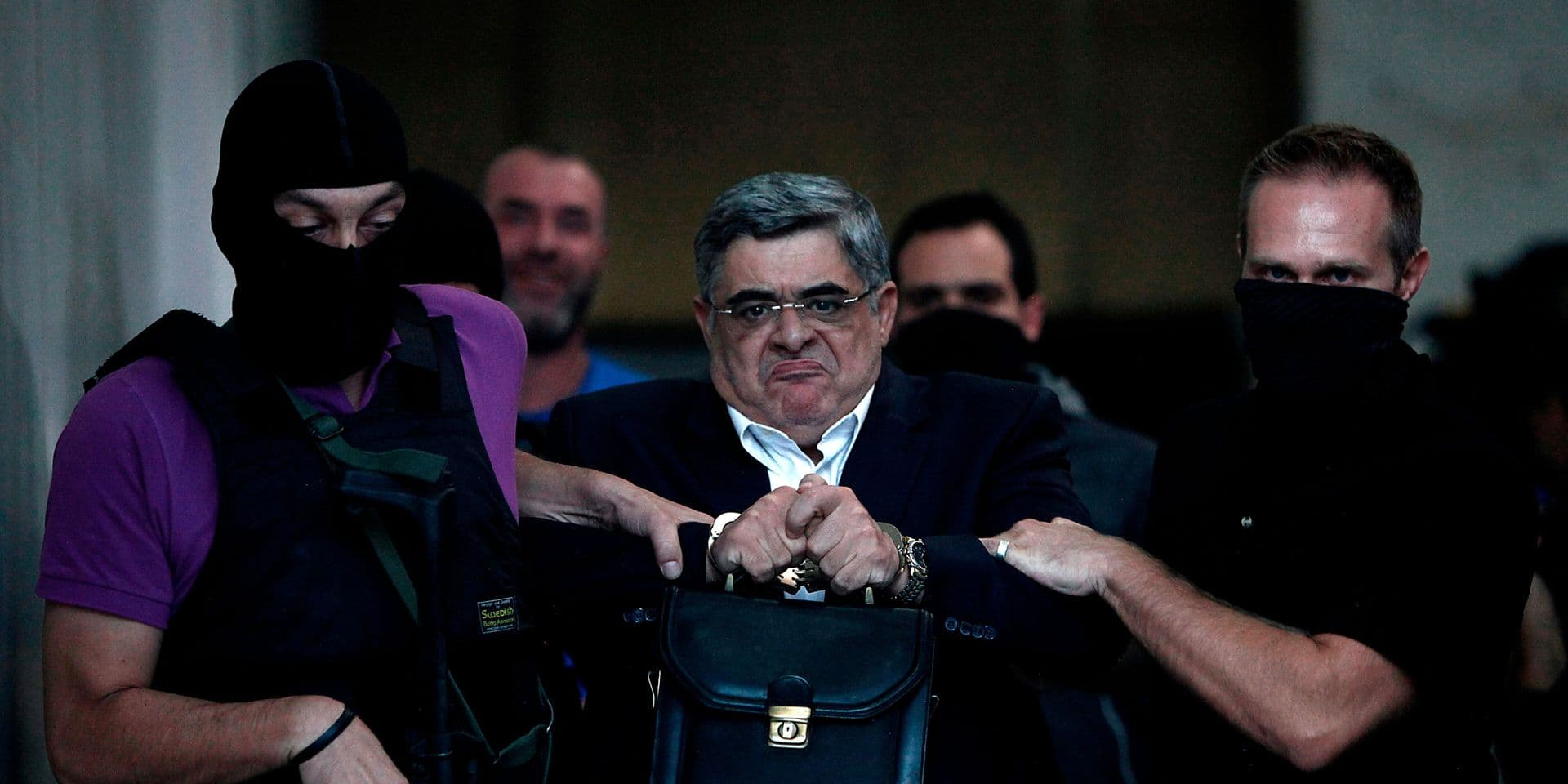 Le chef du parti néonazi grec Aube dorée condamné à 13 ans de prison