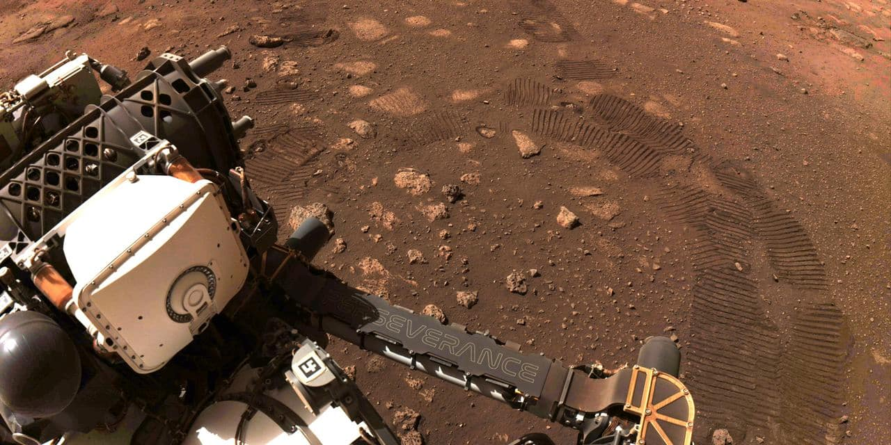 Le rover Perseverance a parcouru ses premiers mètres sur Mars - lalibre.be