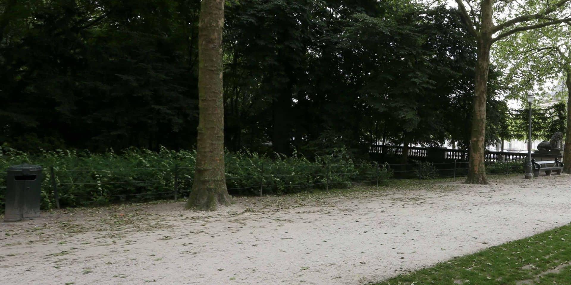 Un quinquagénaire allemand retrouvé mort dans le parc Royal de Bruxelles