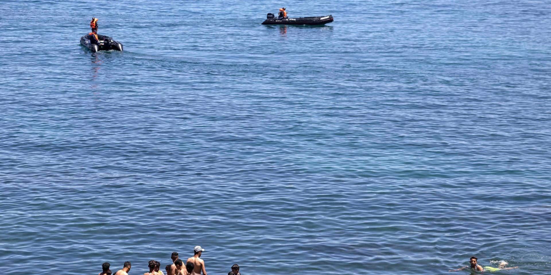 Ceuta: le corps d'un migrant repêché par la police