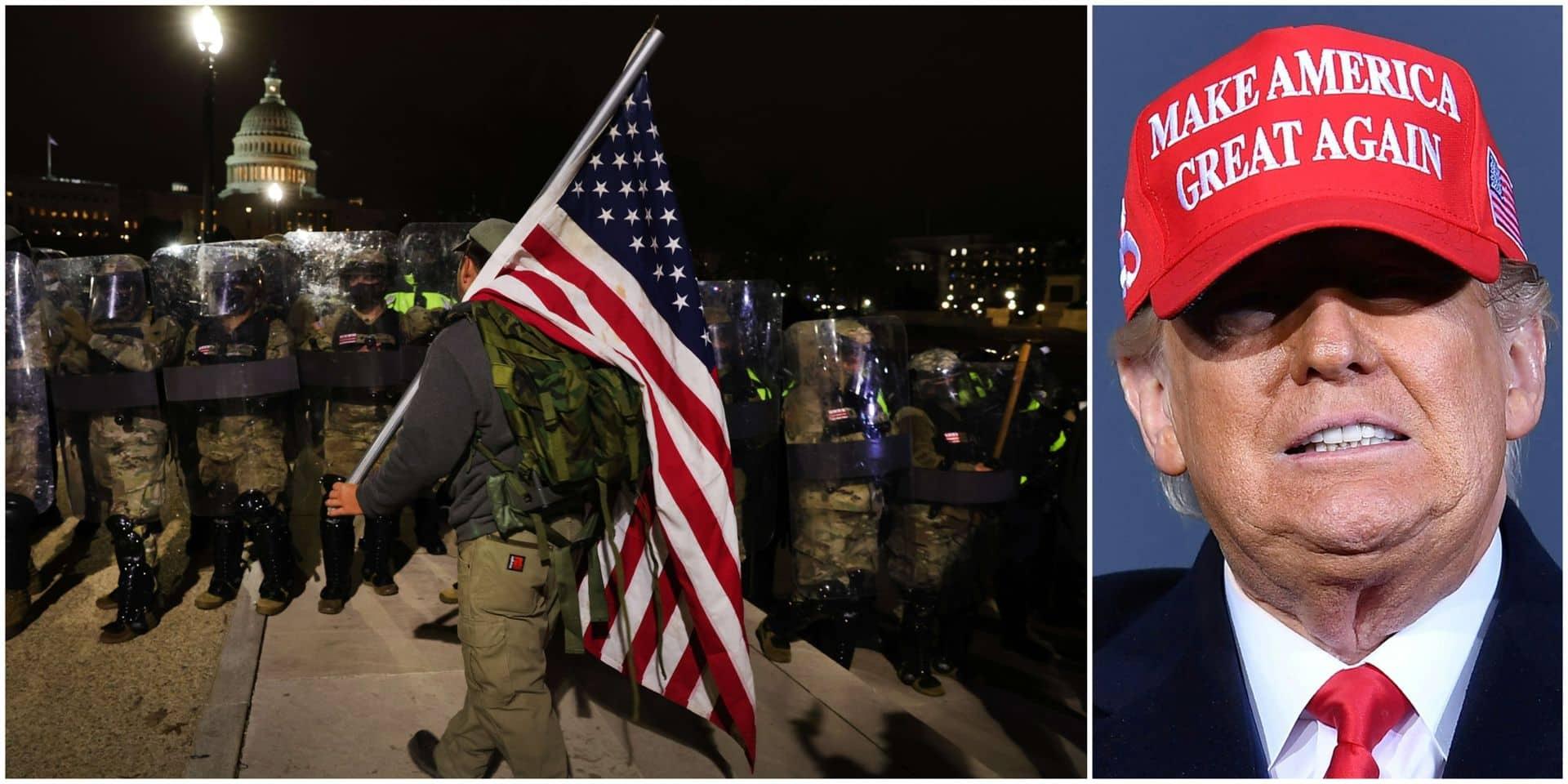 Si Donald Trump a peut-être compris qu'il valait mieux faire profil bas, il n'en a pas moins creusé sa tombe politique