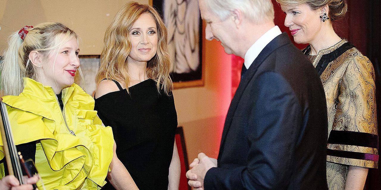 Singer Alice on the Roof aka Alice Dutoit, Belgian singer Lara Fabian performs during, King Philippe - Filip of Belgium and Queen Mathilde of Belgium pictured ahead a concert on the fifth day of a state visit of the Belgian Royals to Canada in Montreal, Canada, Friday 16 March 2018. BELGA PHOTO BENOIT DOPPAGNE