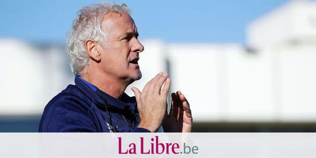 Anderlecht's head coach Fred Rutten gestures during a friendly game between Anderlecht and German club Hoffenheim on the first day for the press at the winter training camp of Belgian first division soccer team RSC Anderlecht, in La Manga, Spain, Friday 11 January 2019. BELGA PHOTO VIRGINIE LEFOUR