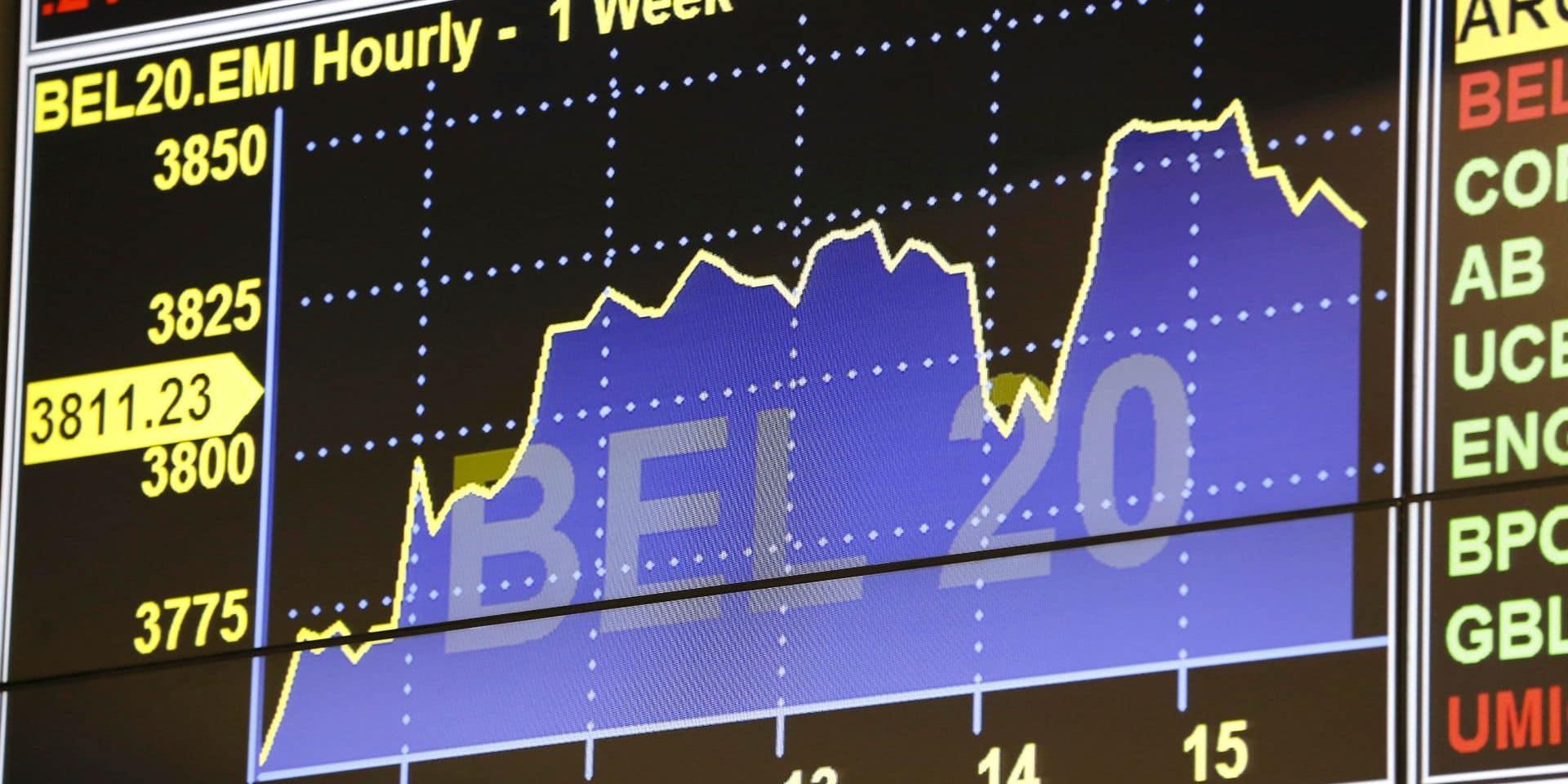 La Bourse de Bruxelles termine la semaine en force, Londres en recul