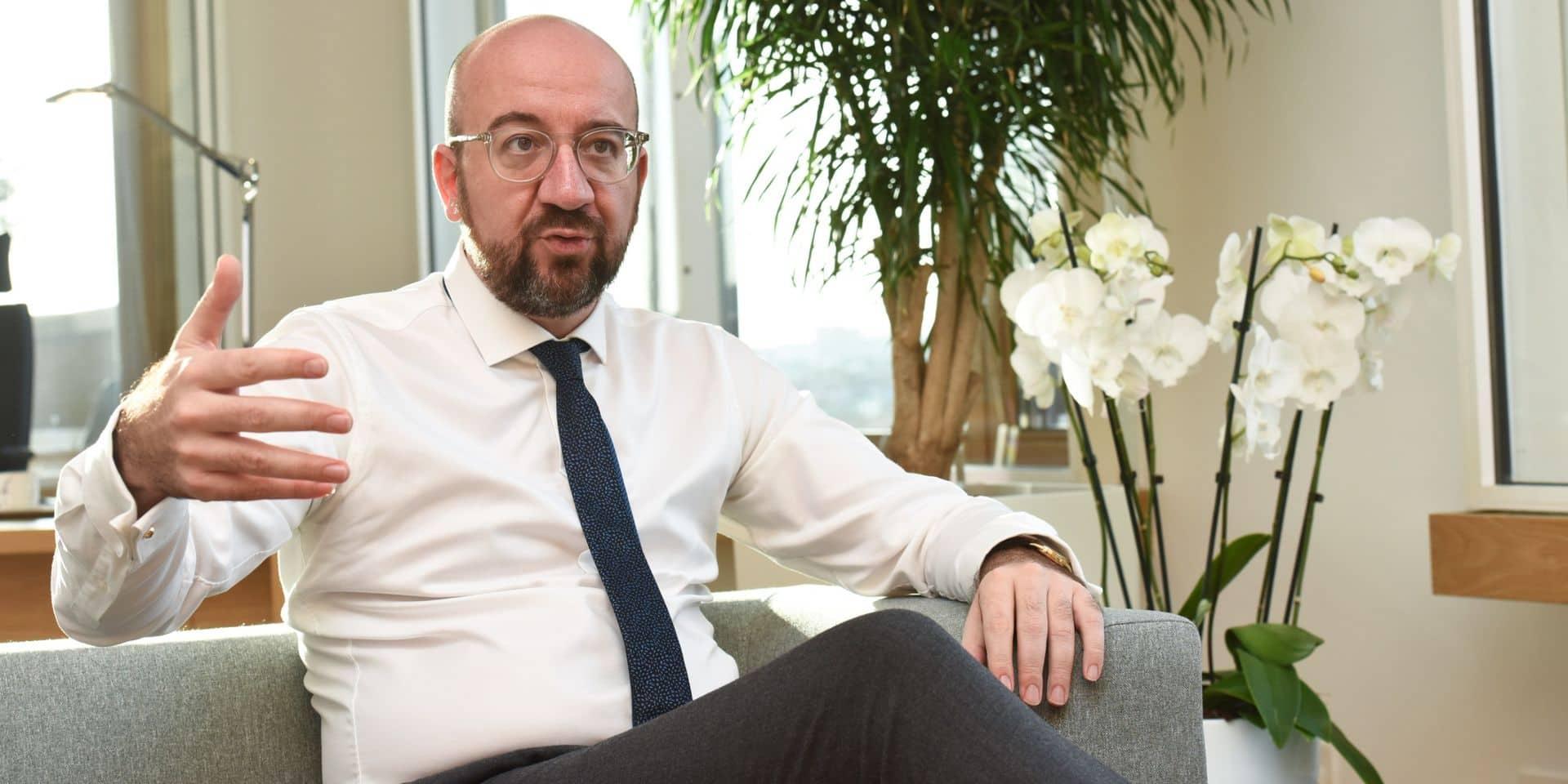 """Charles Michel: """"Le sommet du 12 décembre sur le climat est un moment-clé de l'histoire de l'Union européenne"""""""