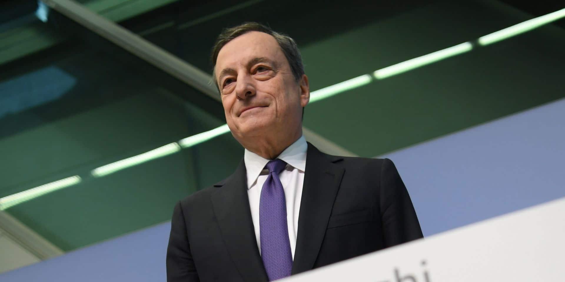 """Mario Draghi aux gouvernements : """"Seule une bonne dette peut sauver l'économie"""""""