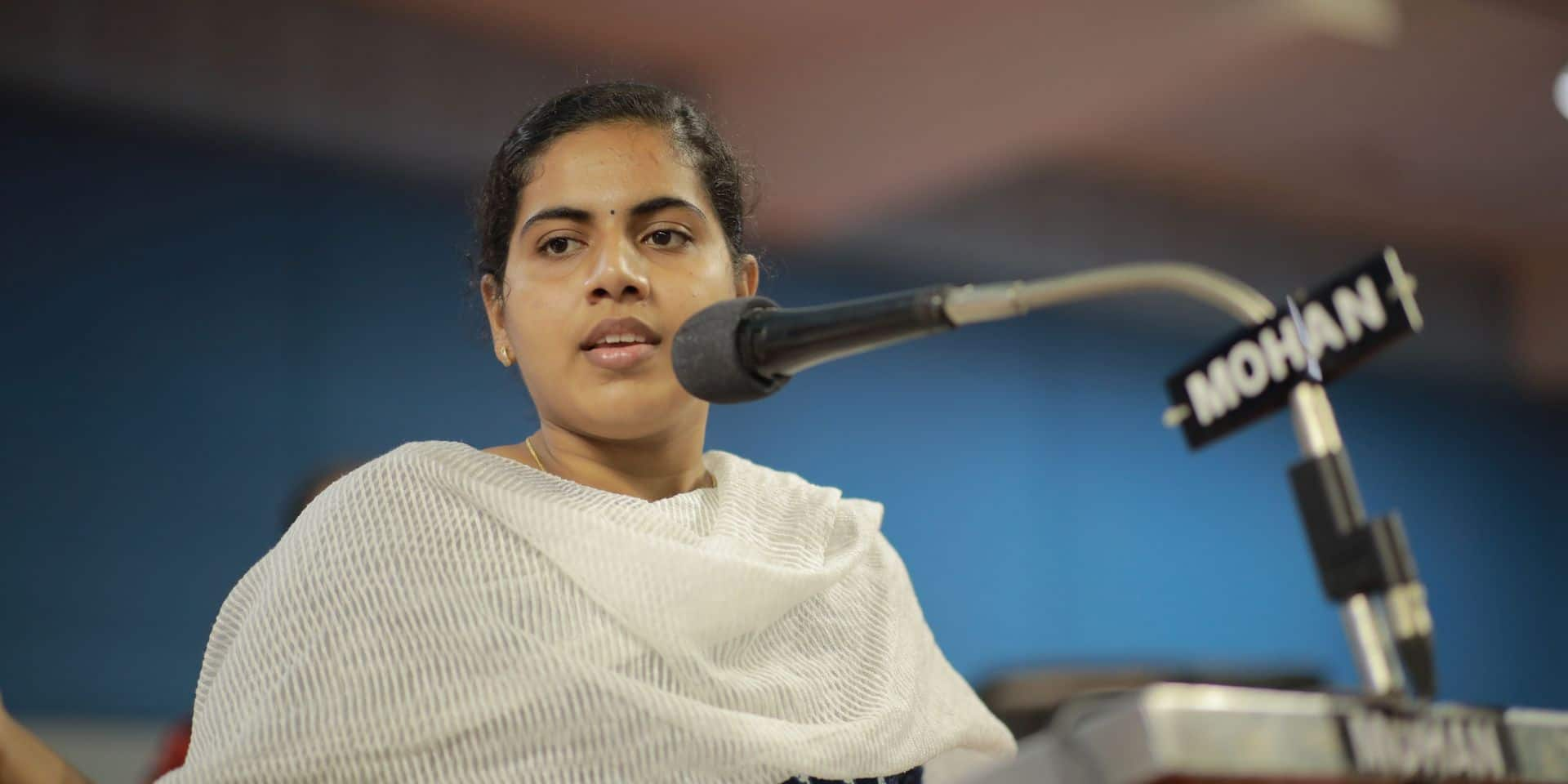 """Arya Rajendran, 22 ans, plus jeune maire de l'histoire de l'Inde: """"Je travaille plus de douze heures par jour et je n'ai pas de vie personnelle"""""""