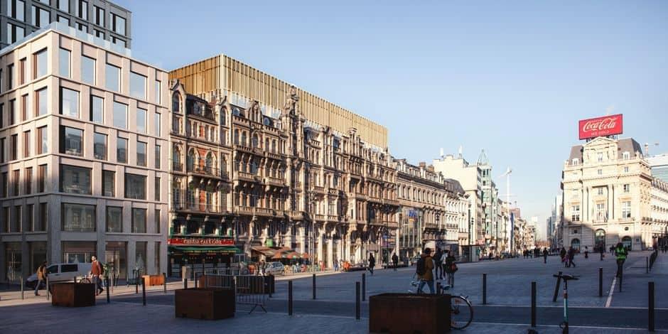 Des travaux de réaménagement de la place De Brouckère débuteront lundi