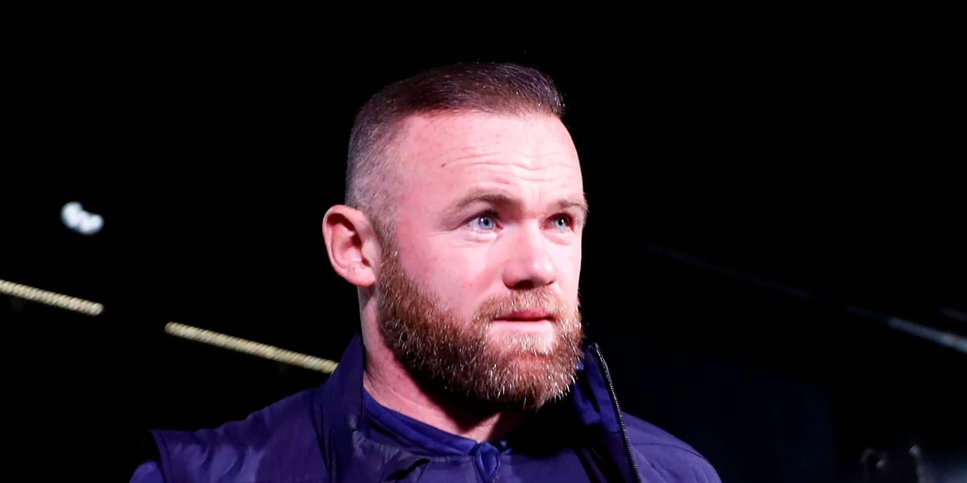 Wayne Rooney arrête sa carrière de joueur et passe entraîneur de Derby County