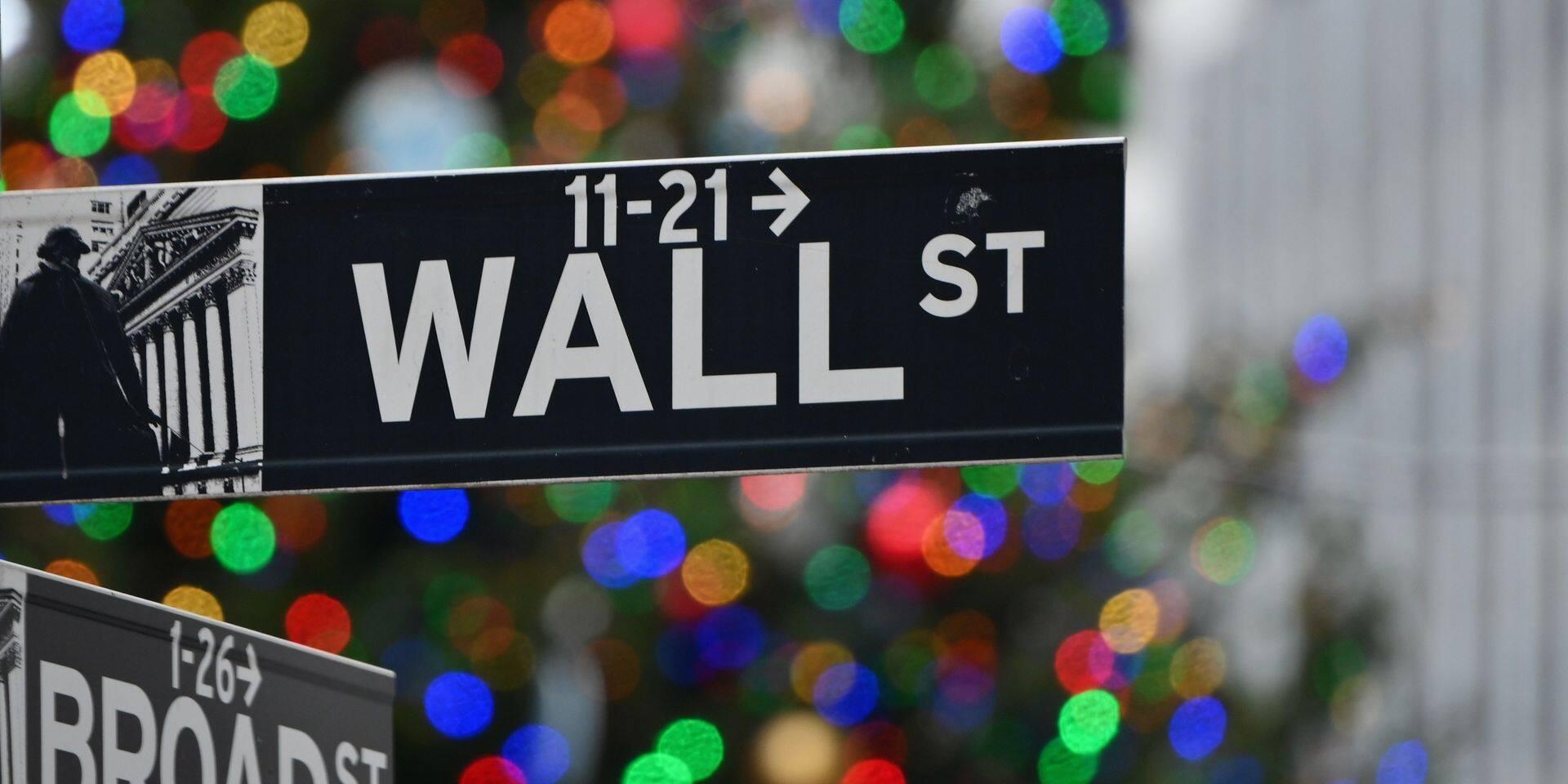 Après des records en début de séance, Wall street termine en légère baisse