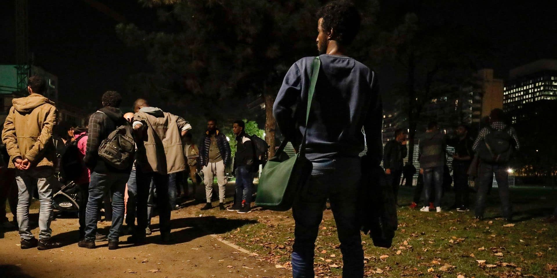 Les sans-abri génèrent des tensions au parc Maximilien