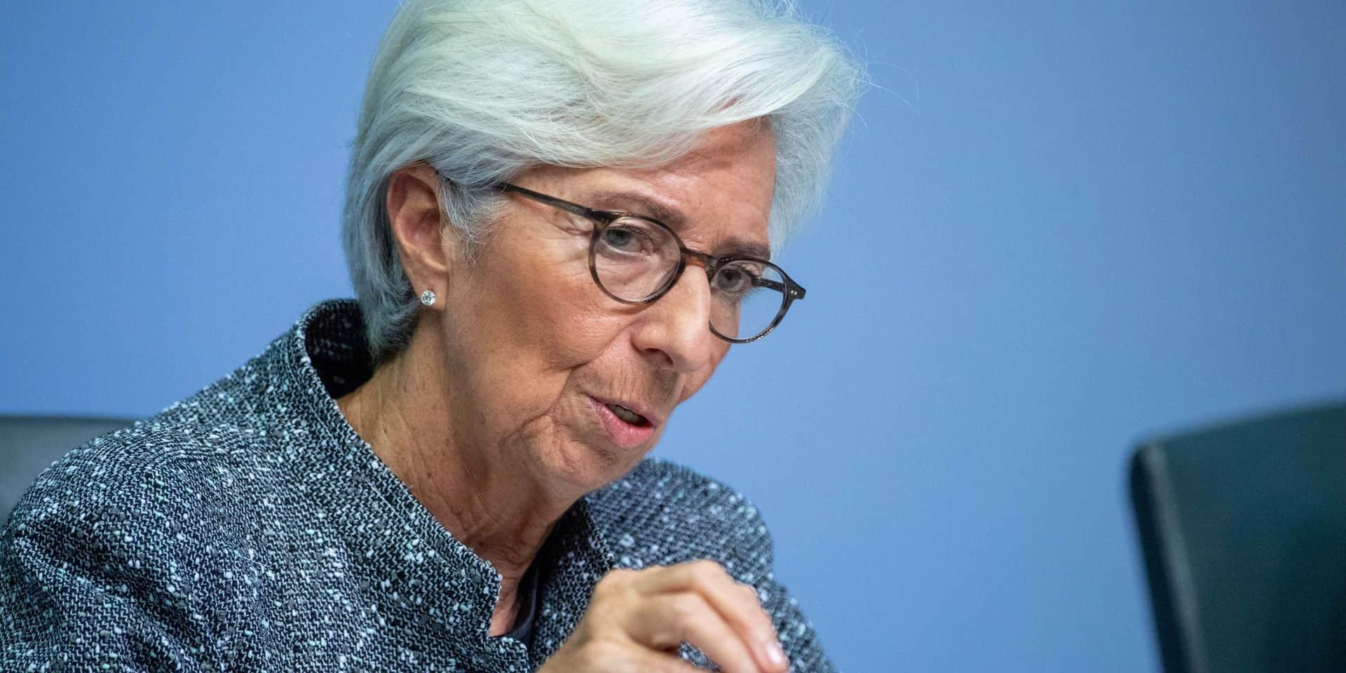 """Coronavirus: Lagarde (BCE) s'attend à une récession """"considérable"""""""