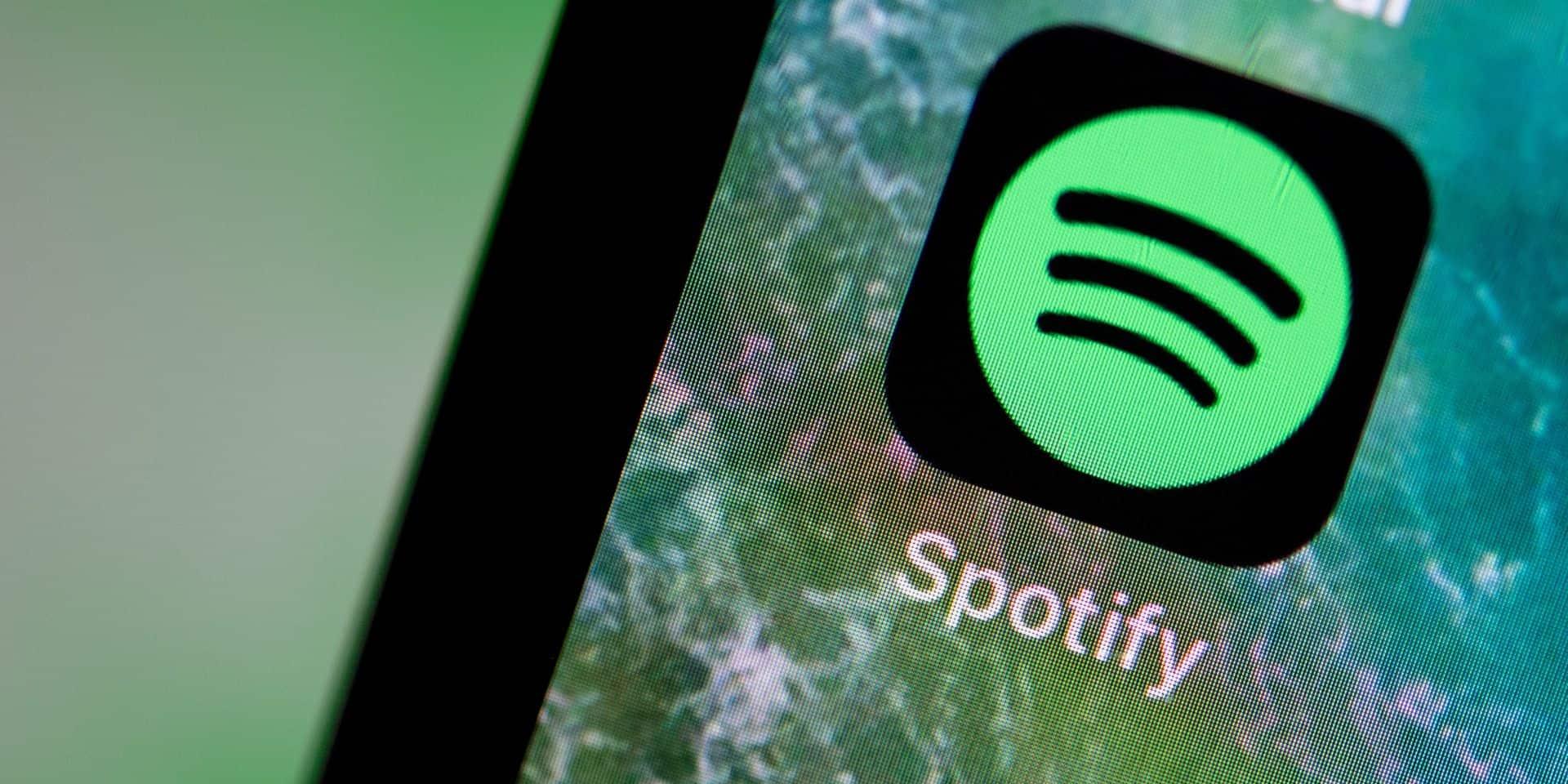 Spotify engrange les abonnés payants mais déçoit en bourse