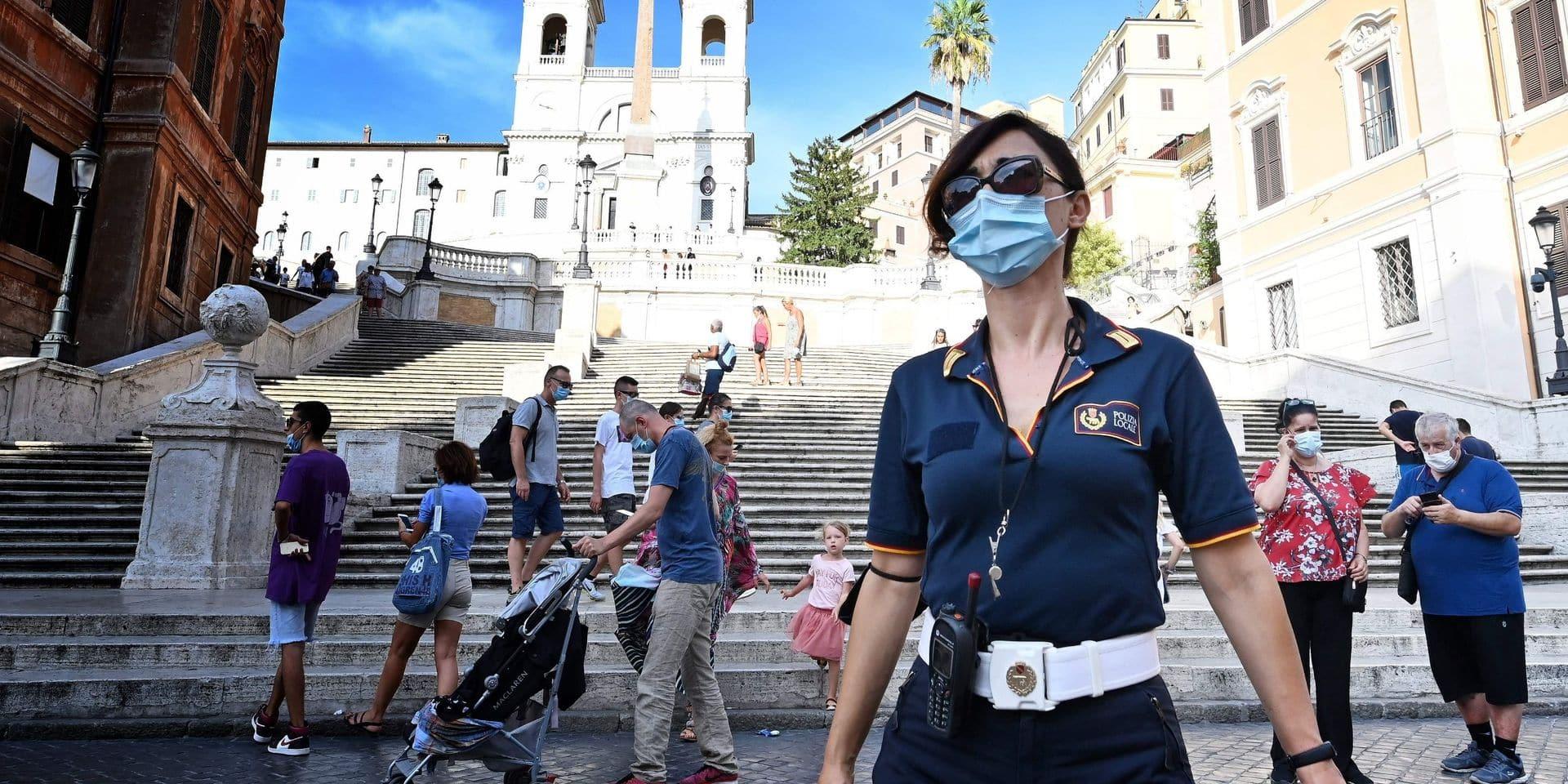 L'Italie enregistre 845 nouveaux cas de coronavirus : plus grande augmentation depuis mai