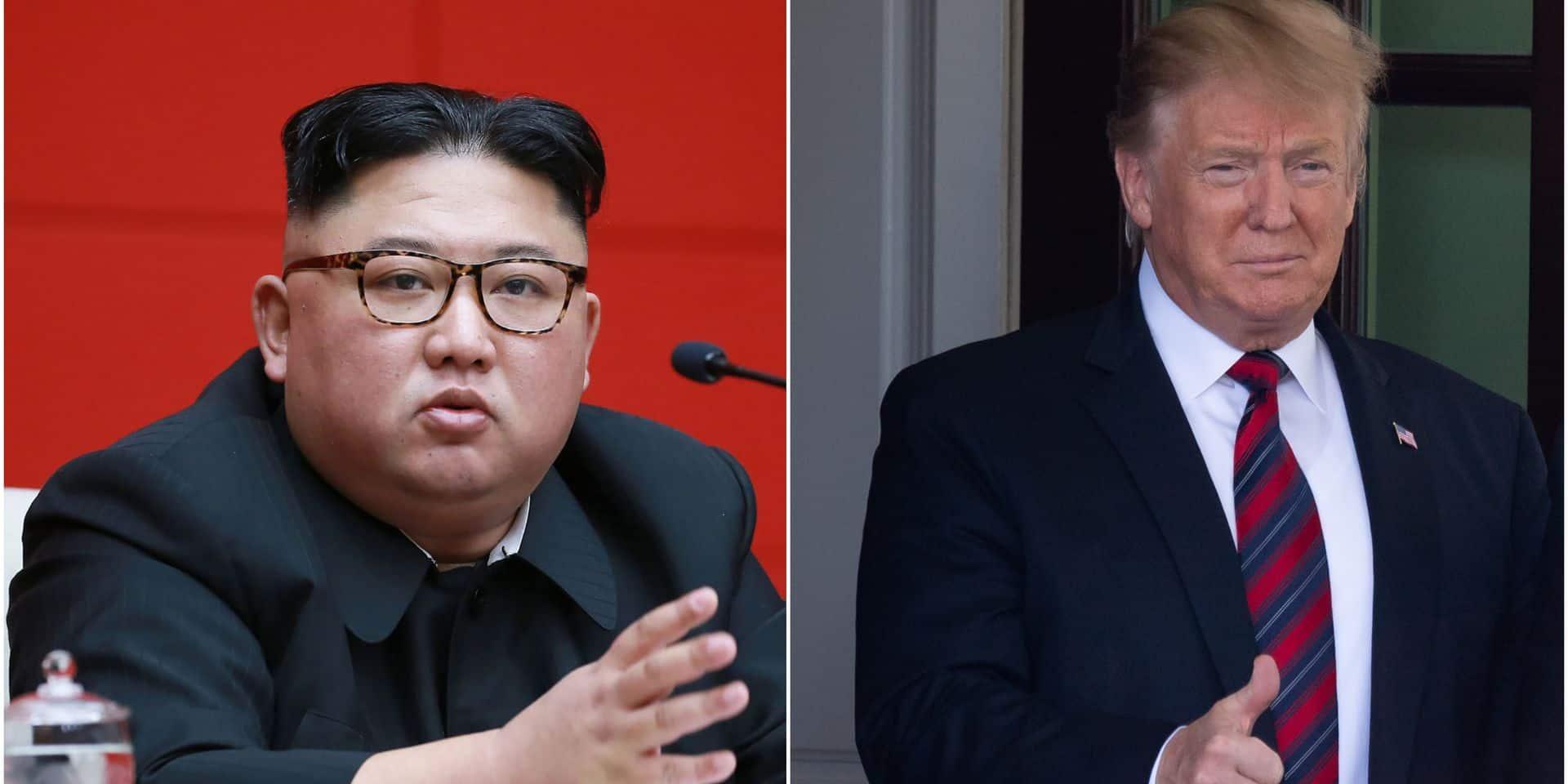 """Trump a confiance en Kim malgré les tirs de projectiles : """"""""Il ne veut pas rompre la promesse qu'il m'a faite"""""""