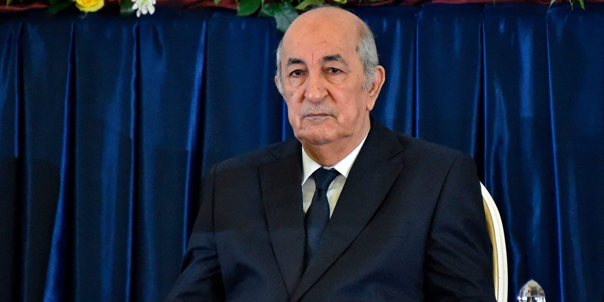 """Absent depuis un mois, le président Tebboune de retour à Alger dans les """"prochains jours"""" pour éviter la vacance de pouvoir"""