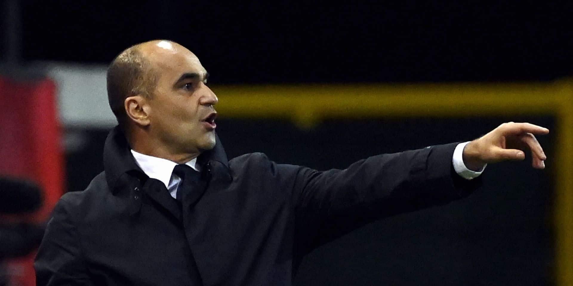 """Roberto Martinez après le tirage au sort pour le Mondial 2022: """"Nous devons nous attendre à être bousculés"""""""