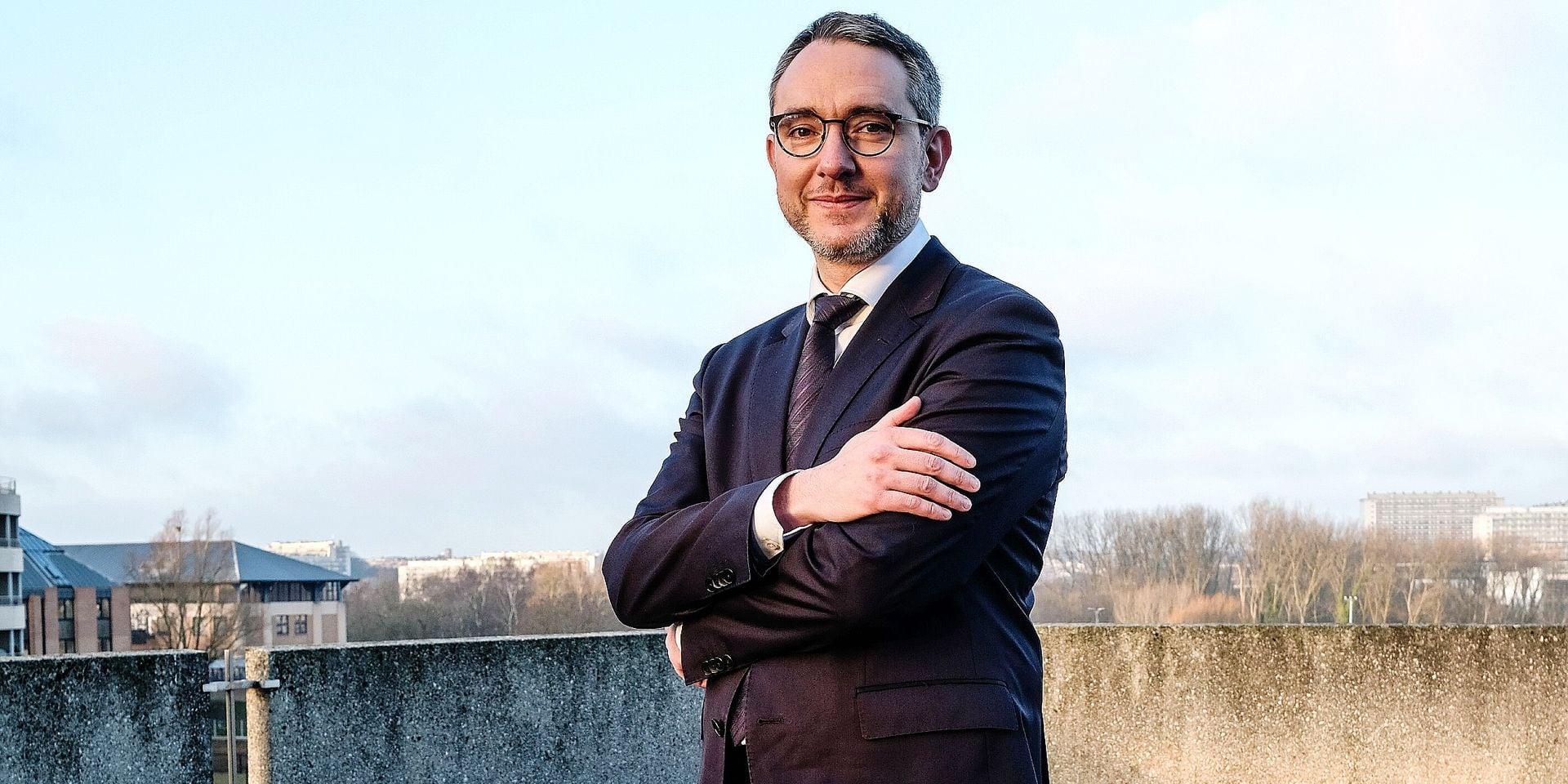 Sebastien Van Bellegem Candidat Recteur de l'UCL Clinique Universitaire St Luc Interview Présentation du Candidat et son programme 19 Février 2019 Bruxelles
