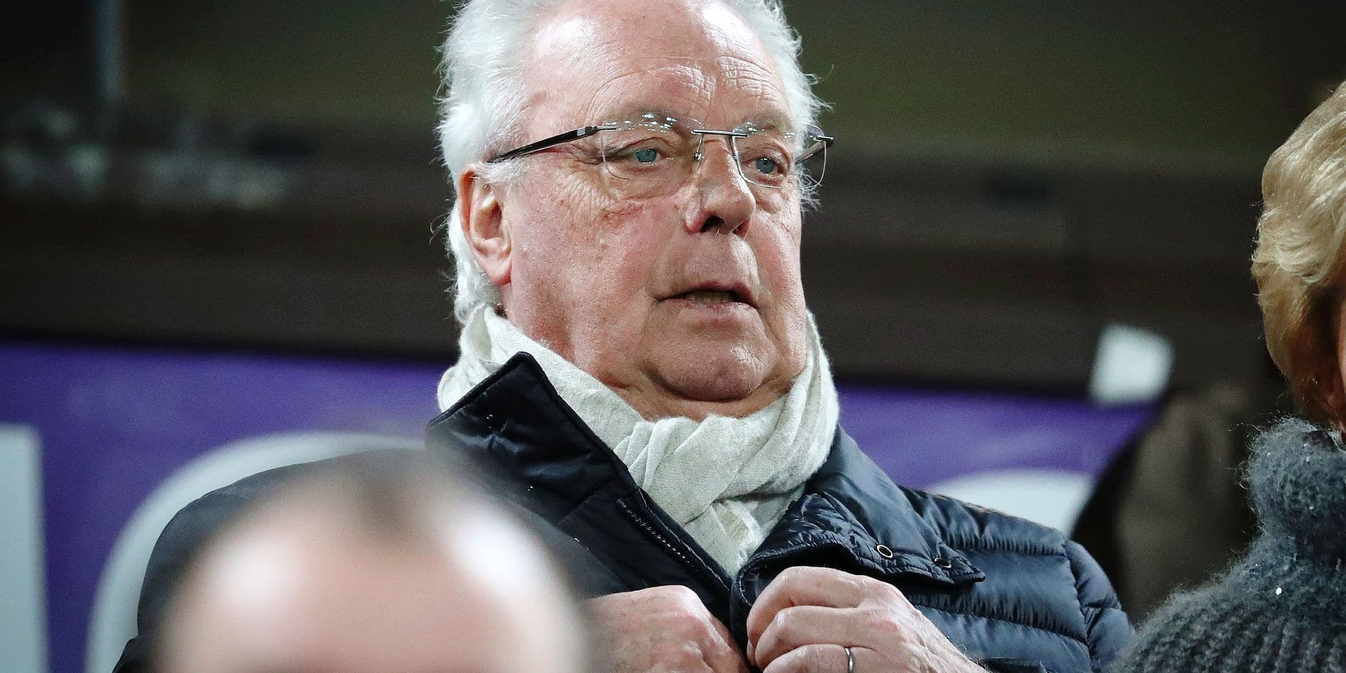 Anderlecht chairman Roger Vanden Stock pictured during the Jupiler Pro League match between RSC Anderlecht and Waasland-Beveren, in Brussels, Wednesday 24 January 2018, on the day 23 of the Jupiler Pro League, the Belgian soccer championship season 2017-2018. BELGA PHOTO VIRGINIE LEFOUR