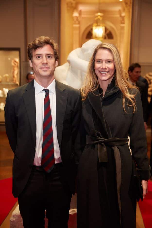 Le Prince Josef de Liechtenstein et sa soeur la Princesse Annunciate de Liechtenstein; les enfants de la princesse Margareta de Luxembourg.