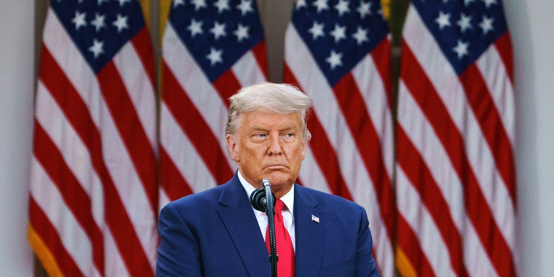 """""""Il continue d'amplifier ses mensonges"""", """"Il empêche la transition électorale"""": les médias américains fustigent l'attitude de Trump"""