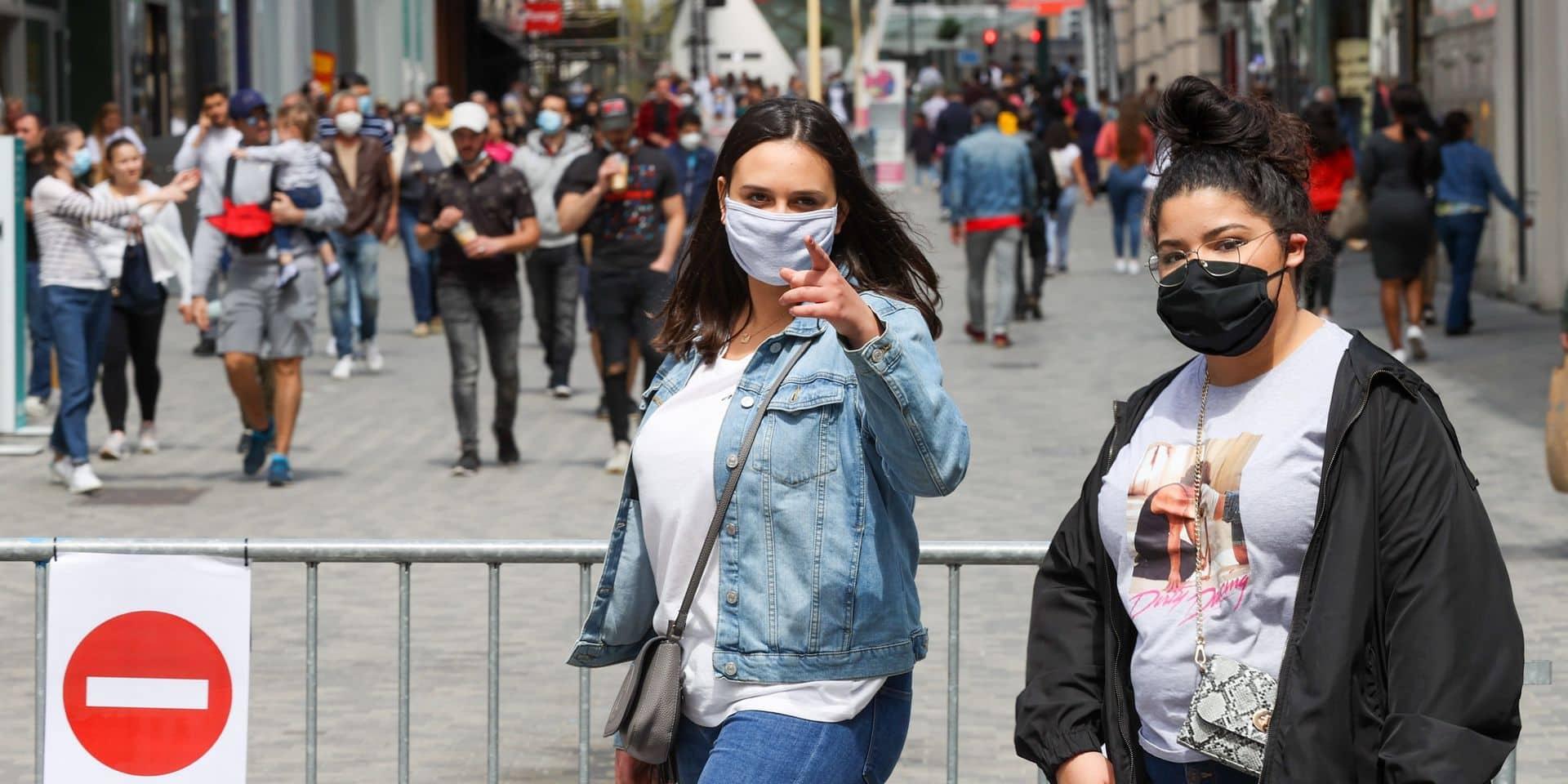 """Port du masque obligatoire et risque de sanctions: """"Les commerçants ne sont pas des agents de police"""""""