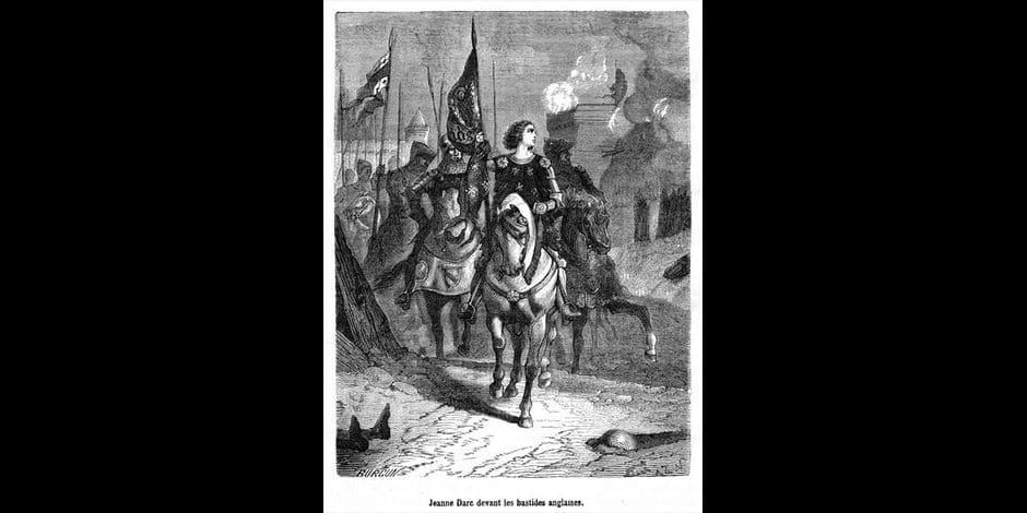 Création d'une Jeanne d'Arc à Bruxelles