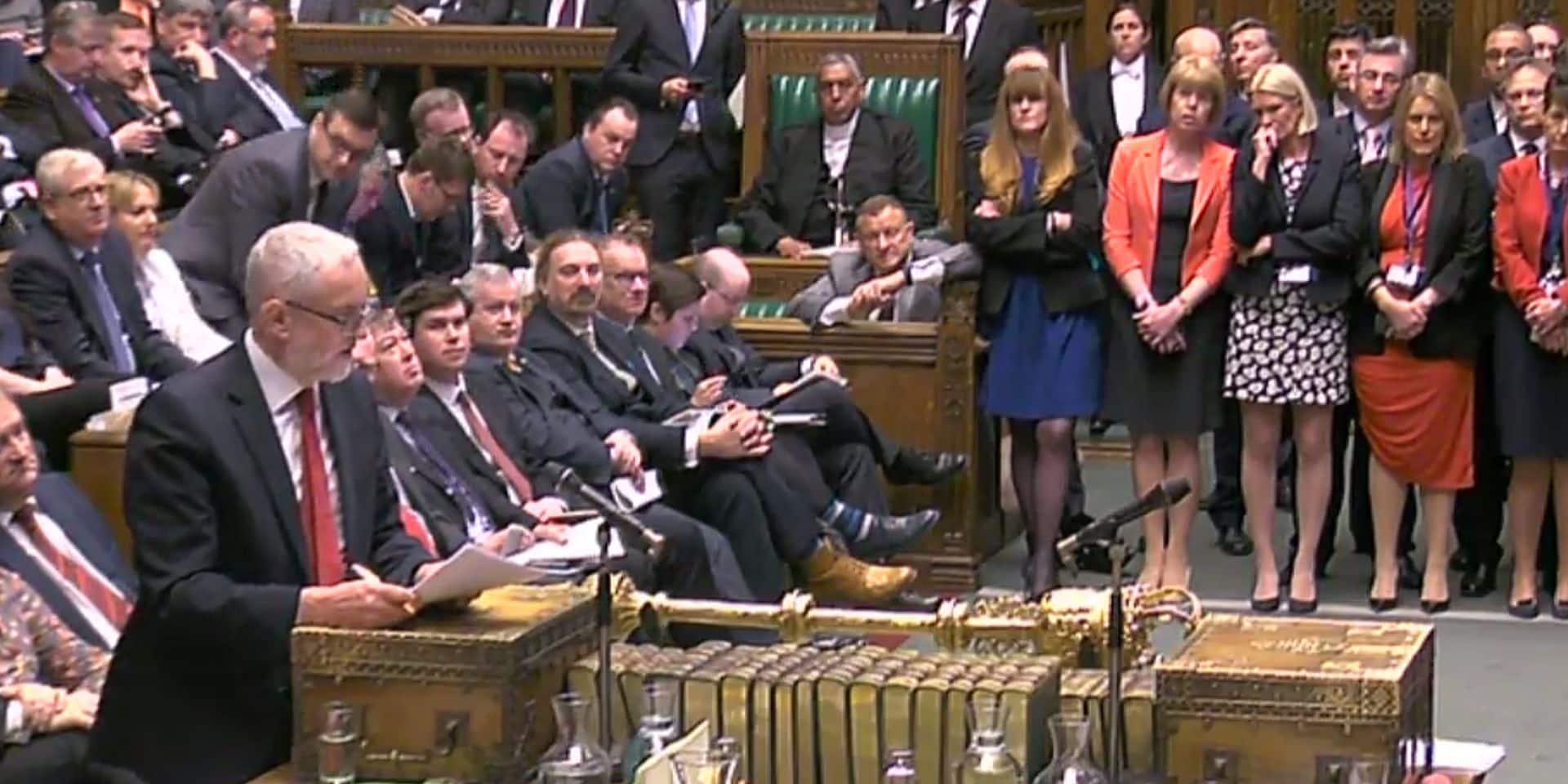 Les Lords donnent au Parlement le droit de bloquer un Brexit sans accord